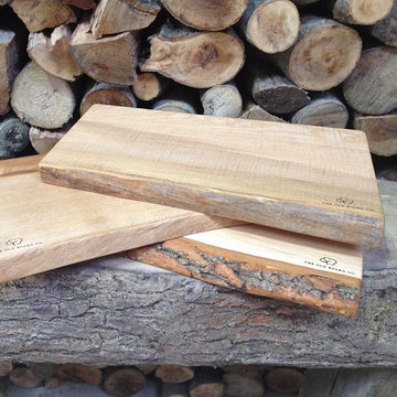 Solid Oak Large Wooden Chopping Board