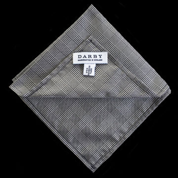 Oxford Prince of Wales Silk Pocket Square