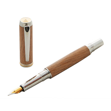 Royal Sandringham Oak Clapham Fountain Pen