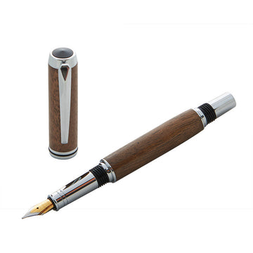 Royal Sandringham Walnut Norton Fountain Pen