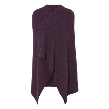 Thistle Cable Cashmere Wrap