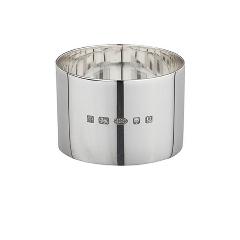 Classic Round Silver Napkin Ring