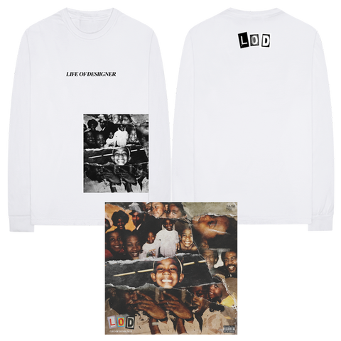 LOD COVER L/S T-SHIRT + DIGITAL ALBUM