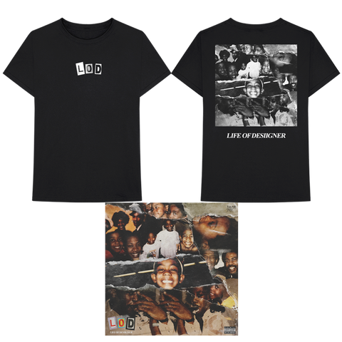 LOD COVER T-SHIRT + DIGITAL ALBUM