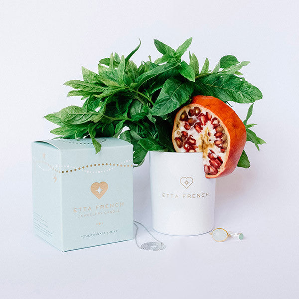 Pomegranate & Mint - Jewellery Candle
