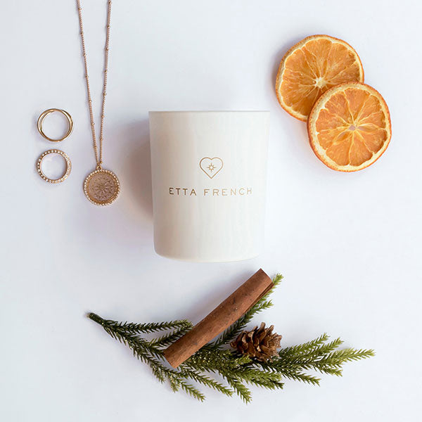 Nutmeg, Orange & Cinnamon - Jewellery Candle