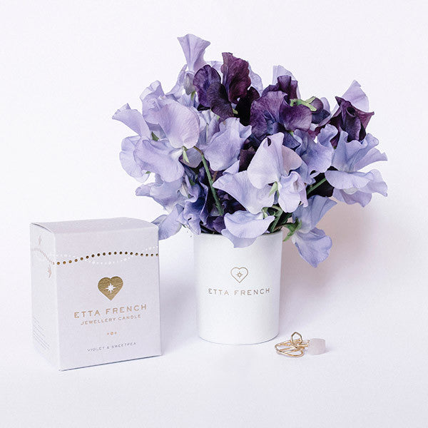 Violet & Sweetpea - Jewellery Candle