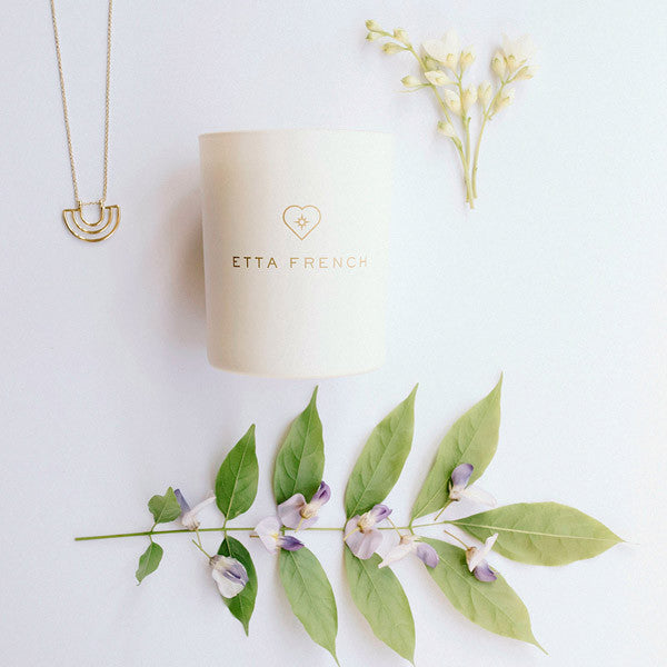 Wisteria & Orange Blossom - Jewellery Candle