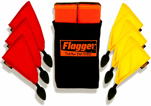 Flagger Toss Game