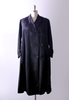 1910's black silk coat