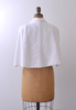 1960's Ice Castle Fur Cape / White Faux Fur / One-Size