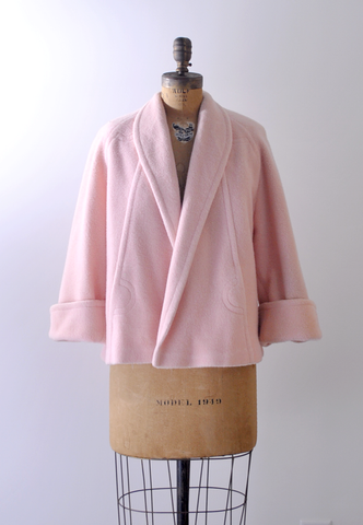 1960's light pink coat