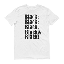Black on Black Slogan T-shirt - Helluva Vibe Apparel