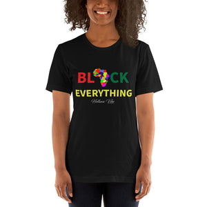 Black Everything Slogan Tee - Helluva Vibe Apparel