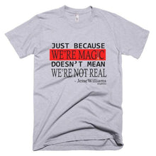 Just Because We're Magic Logo Print Tee - Helluva Vibe Apparel