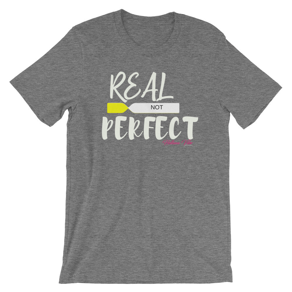 Real not Perfect Scripted logo T-Shirt