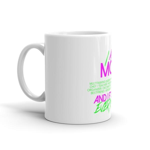 I am Mom Coffee Mug - Springitontees.com