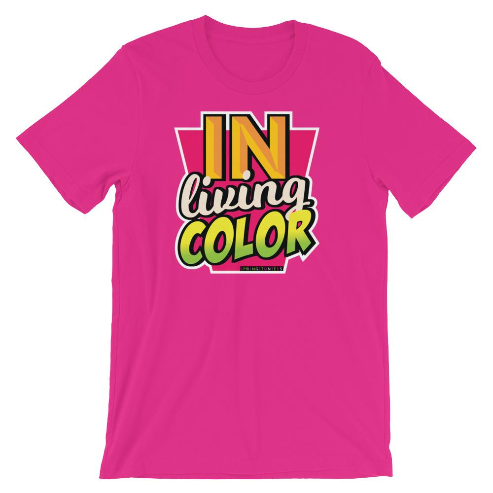 In Living Color T-Shirt 90's Inspired Colorful Logo Tee
