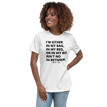 No In Between Women's Relaxed Graphic Tee