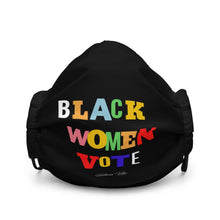 Black Women Vote Face mask