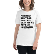 No In Between Women's Relaxed Graphic Tee - Helluva Vibe Apparel