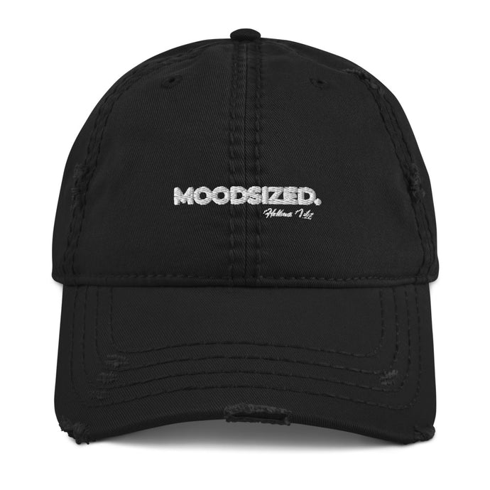 Moodsized Slogan Distressed Dad Hat
