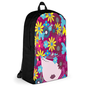 A Beautiful Mess Colorful Backpack - Helluva Vibe Apparel