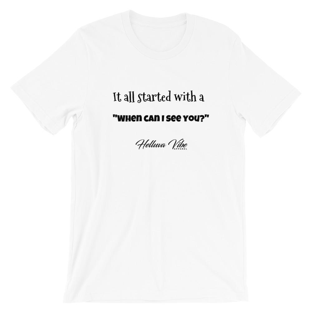 [Women's White Tee ] -Trendy