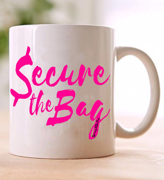 Secure the Bag Coffee Mug - Springitontees.com