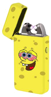 Sponge Bob Arc Lighter