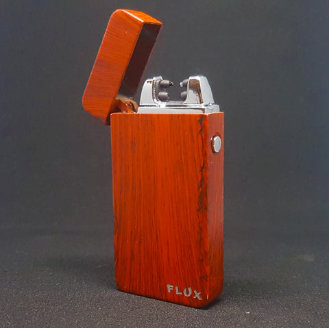 Red Wood - Electric Arc Laser Plasma Lighters UK ONLY last few! - Flux Lighters