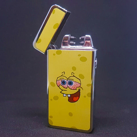2-Sided - Stoned Bob - Electric Arc Laser Plasma Lighter - Flux Lighters