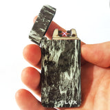 Black Marble Plasma Electric Lighter - Flux Lighters
