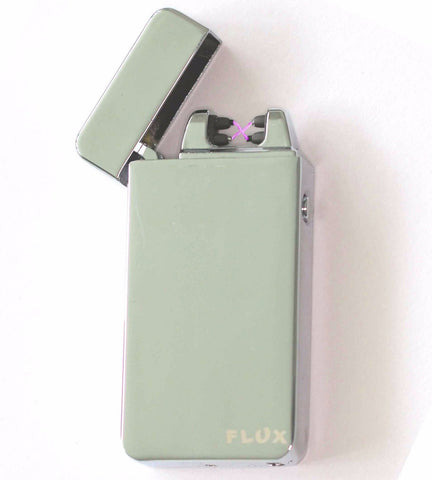 Silver - Electric Arc Laser Plasma Lighter - Flux Lighters