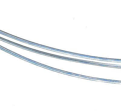 Solder-filled Sterling Silver Wire For Jump Rings 18 Gauge (2 Feet)