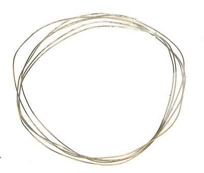 Gold Filled 28 Gauge 14/20 Jewelry Wire Soft 2nd-thinnest 0.012 Inch (Qty= 2 Feet)
