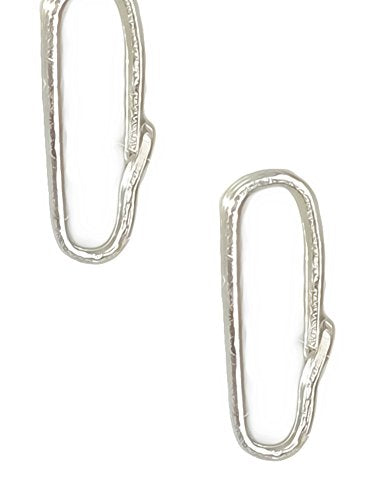 10 Snap Bails Tiny Sterling Silver Locket Bail 7mm X 3mm (Qty=10)