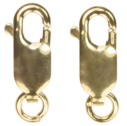 uGems 2 14K Gold Filled Lobster Clasp Medium 5x13mm