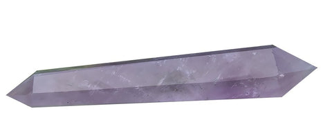 Amethyst Vogel Style 6 Sided Point Genuine Natural Crystal Quartz Massage Wand Dt 4 Inch