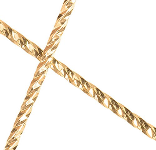 "14K Gold Fill 21 ga Sparkle Wire .030x12"" (.76mm) 2-12 inch"