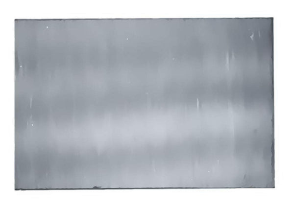 "uGems 3"" Sheet Sterling Silver Flat Soft 30 Gauge 3"" X 1"" X 0.010"""
