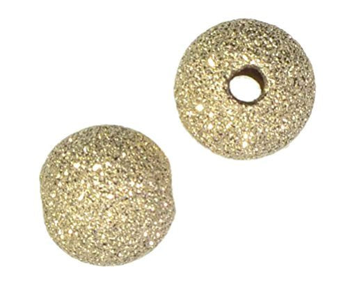 uGems Stardust Sparkle Beads Gold Filled 8mm (30)