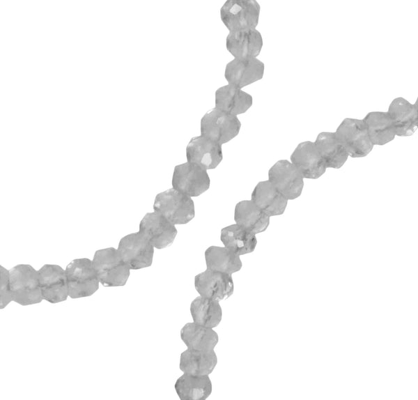Quartz Faceted Round Beads Strands Assorted Sizes