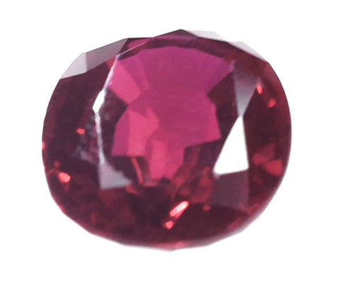 Synthetic Ruby Large Oval Facet (25 Millimeters)