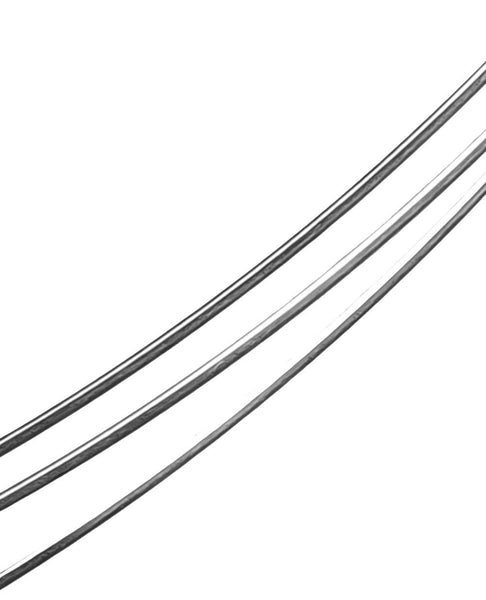 uGems Sterling Silver Round Wire 18 Gauge 5 Ft