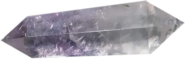Amethyst Vogel Style 6 Sided Point Genuine Natural Quartz Crystal Massage Wand Dt 3 Inch