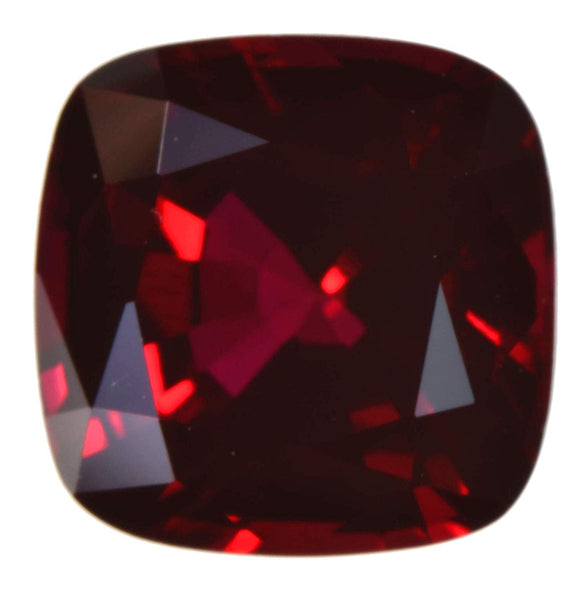 uGems Synthetic Ruby Square Cushion 8mm (1)
