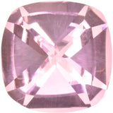 uGems Created Padparadscha Sapphire Lotus Blossom Light Pink Cushion Flat Top