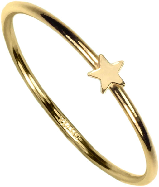 14kt Gold Fill Star Stackting Ring Size 6