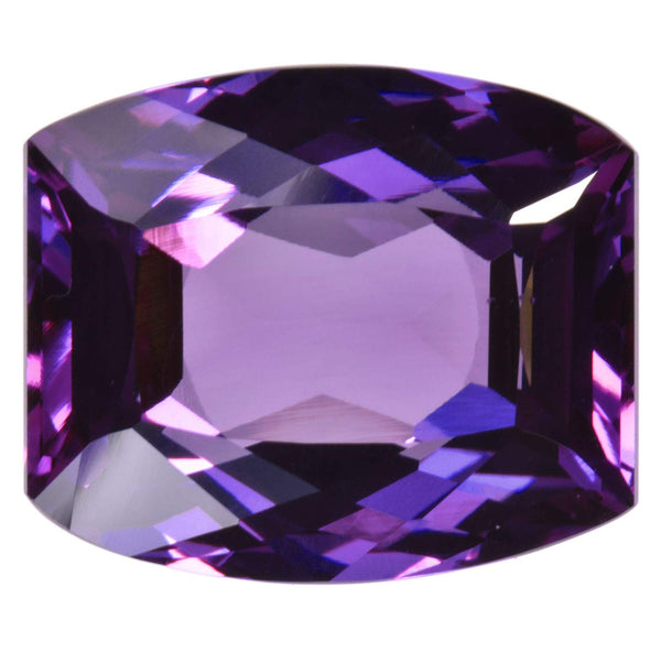 Simulated Alexandrite Unset Loose Gemstone Fancy Cushion 20mm X 16mm (1)